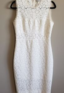 Elizabeth and James, size 8, off white, Dress